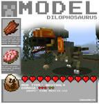 Minecraft - Dilophosaurus