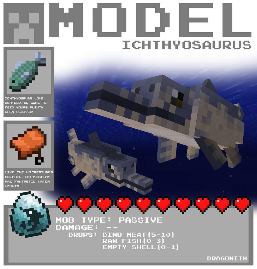 Minecraft - Ichthyosaurus