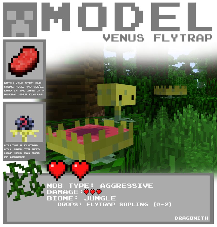 Venus Flytrap By Dragonith On DeviantArt