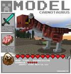 Minecraft - Carnotaurus