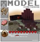 Minecraft - Dimetrodon
