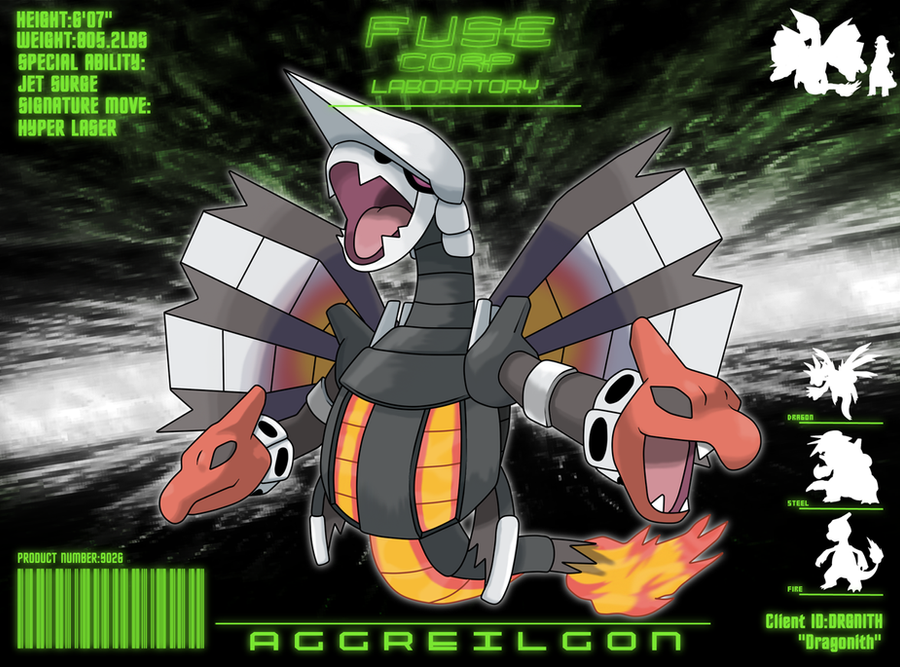 F.U.S.E Corp Lab: Aggreilgon by Dragonith