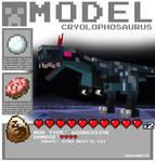Minecraft - Cryolophosaurus