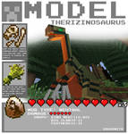 Minecraft - Therizinosaurus