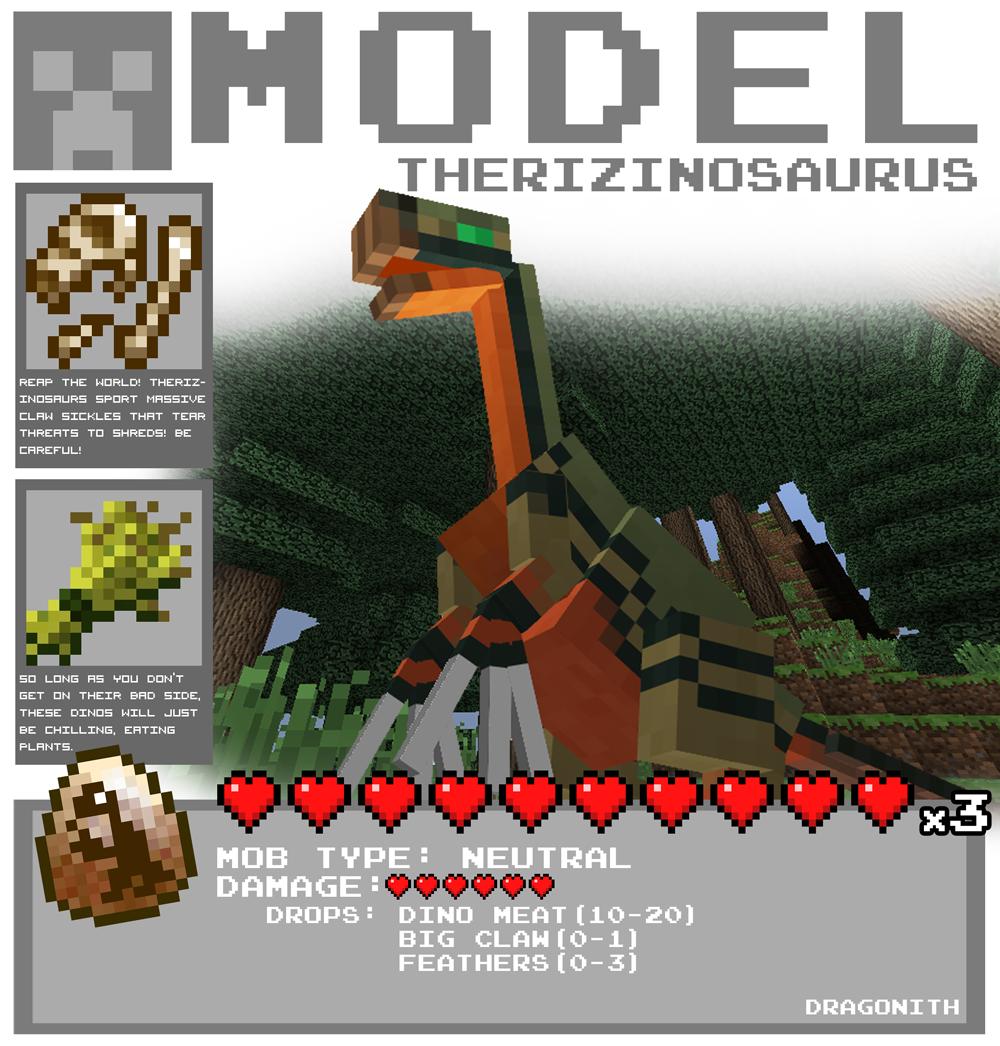 Therizinosaurus By Dragonith On DeviantArt