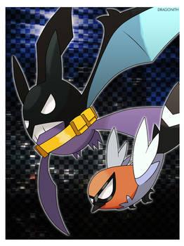 Fanart - Crobatman and Robin