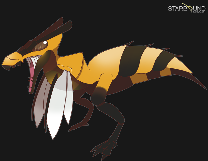 Starbound - Allerbee by Dragonith