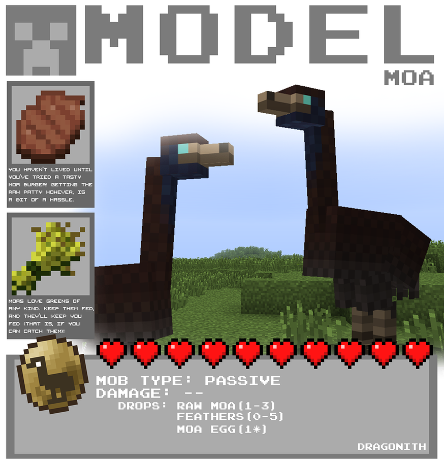 Mythical Creatures Minecraft Crafting Recipes