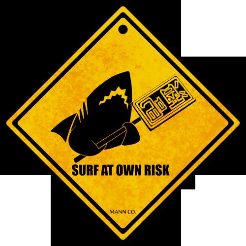 Pyro Shark Sign