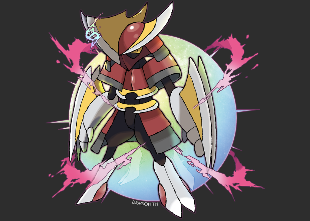 Mega Bisharp by Dragonith