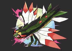 Mega Yanmega by Dragonith