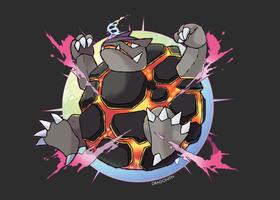 Mega Golem by Dragonith