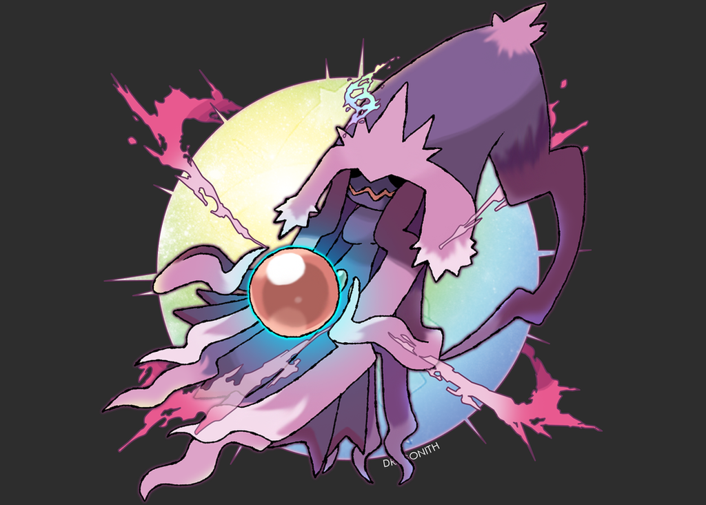 Mega Mismagius by Dragonith