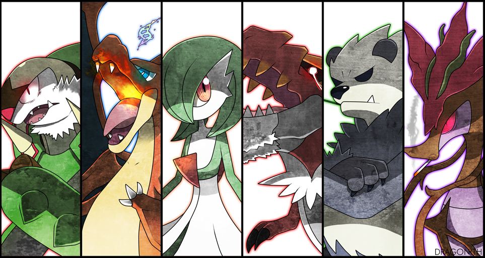 Battle Cuts Y Team By Dragonith On Deviantart