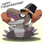 Happy Tyruntsgiving!