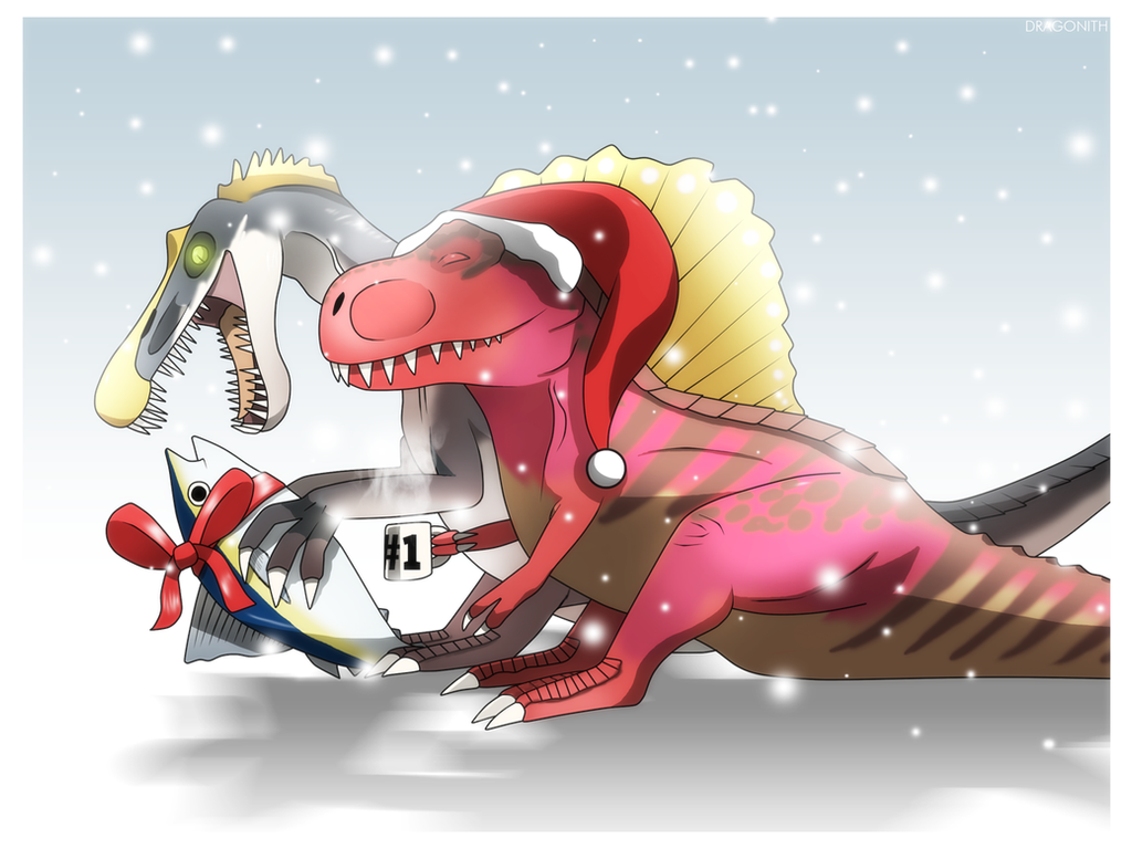 primal carnage happy holidays by dragonith on deviantart