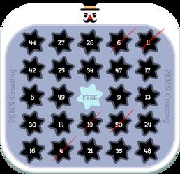 PKMNC - Snowman Bingo Card