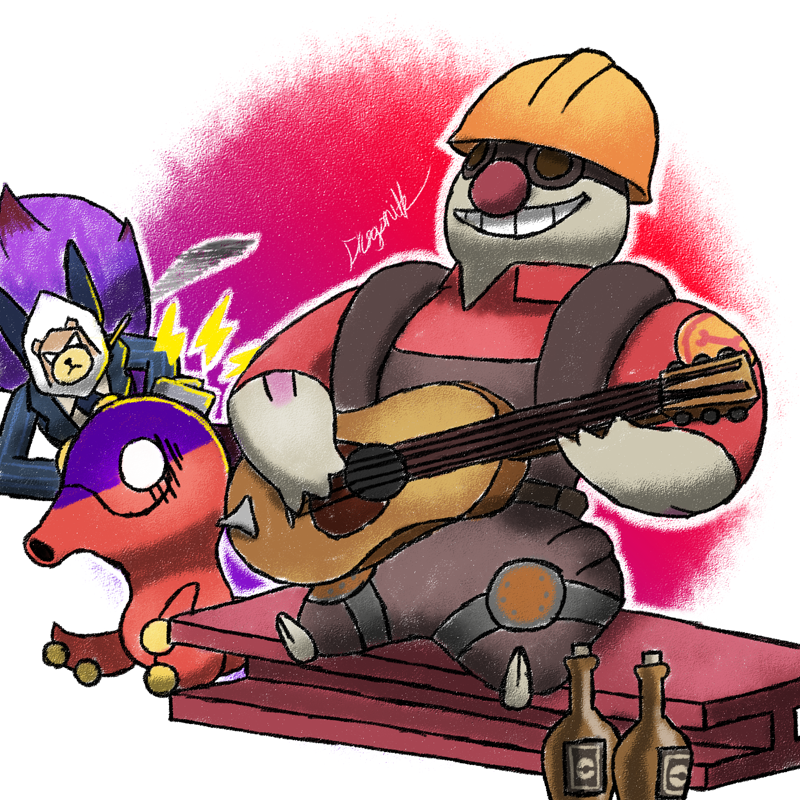 GOTTA MOVE THAT GEAR UP by Dragonith