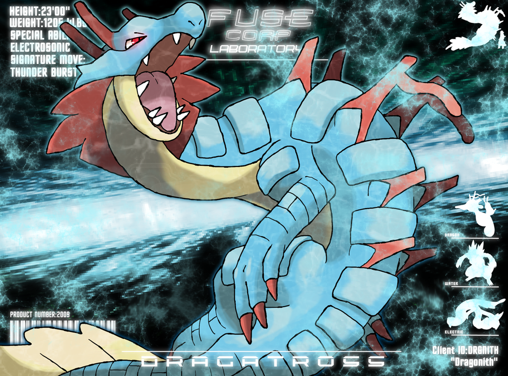 F.U.S.E Corp Lab: Dragatross by Dragonith