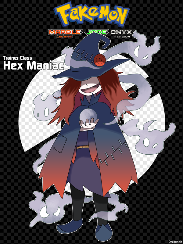 Trainer Class Hex Maniac By Dragonith On Deviantart