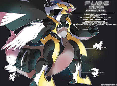 F.U.S.E Corp Special: Perfect Kyurem by Dragonith