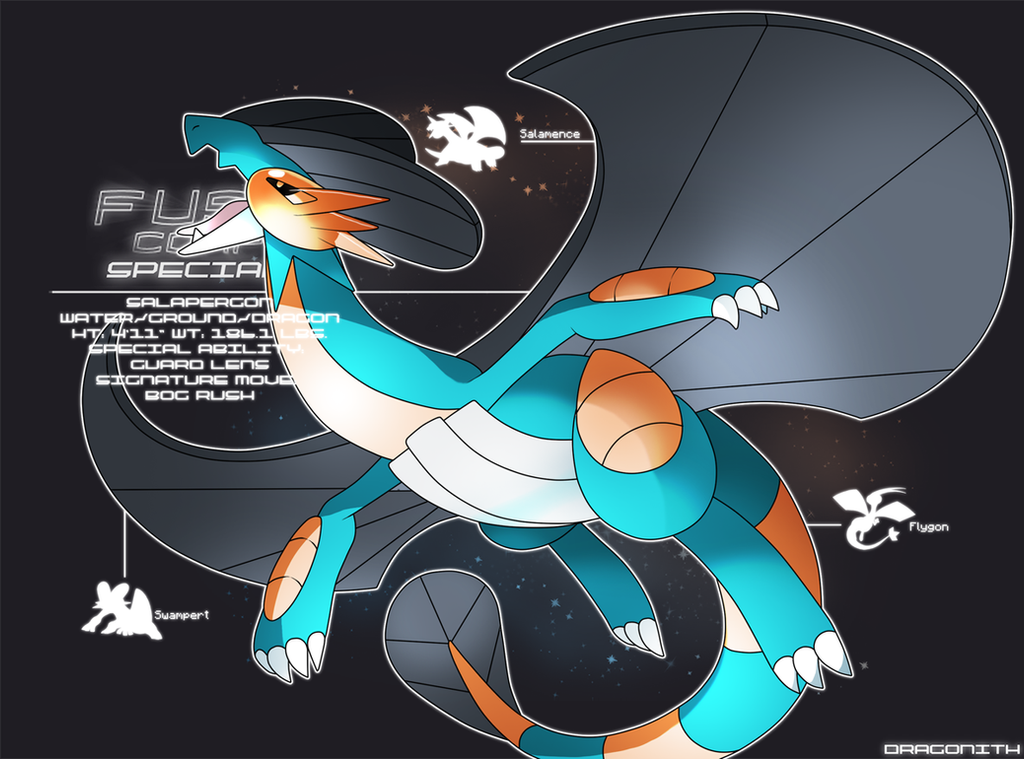 F U S E Corp Special Salapergon By Dragonith On Deviantart