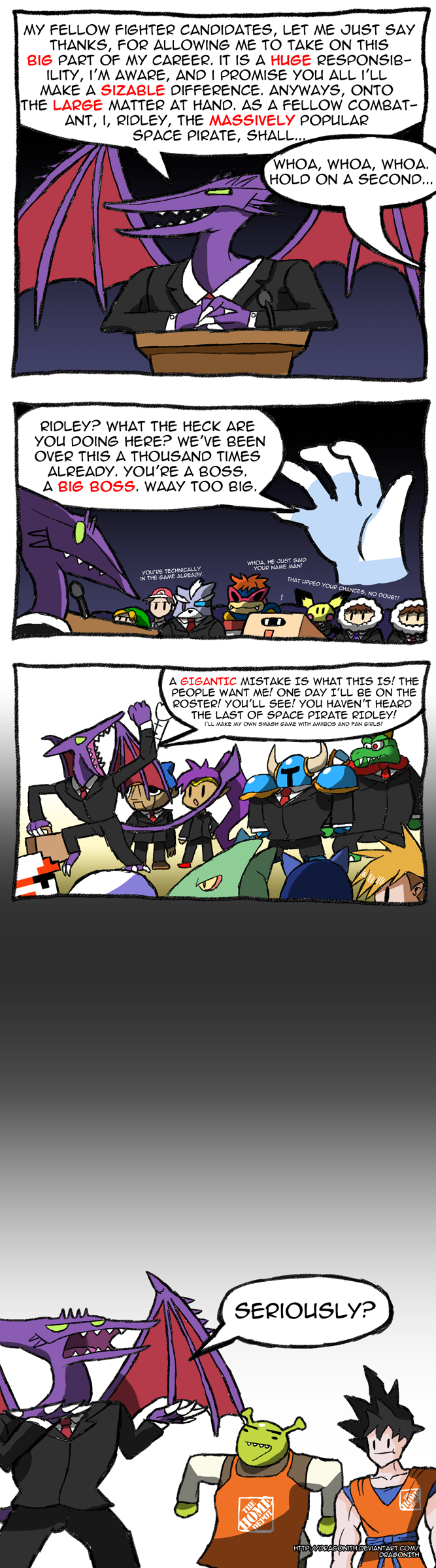 Ridley 4 President By Dragonith On Deviantart