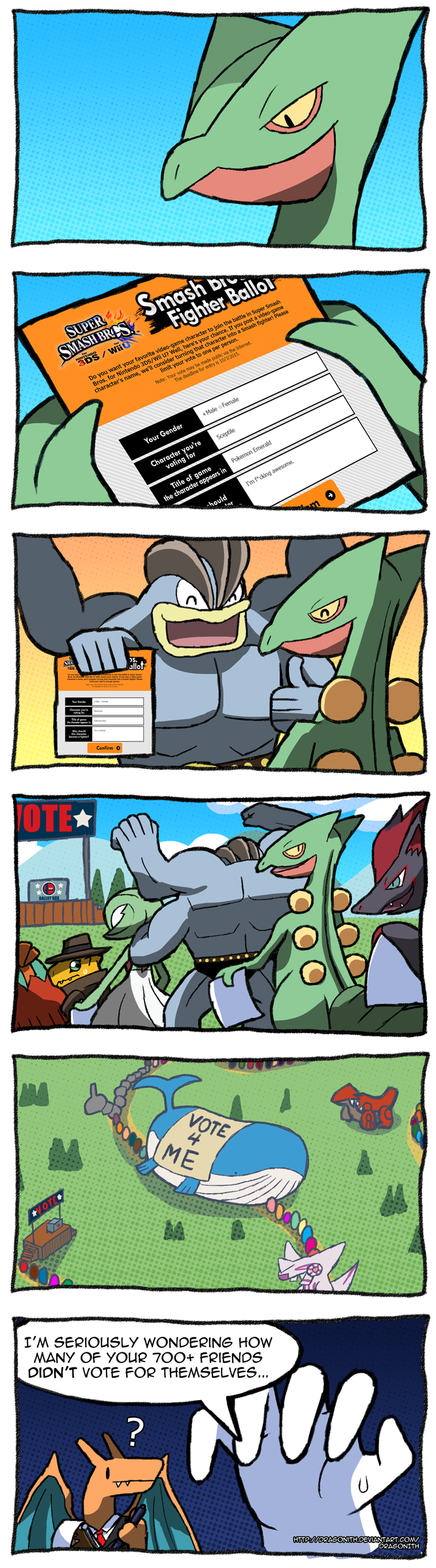 Smash Ballots Pokemon By Dragonith On Deviantart
