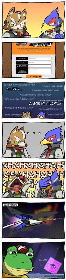 Smash Ballots - Star Fox