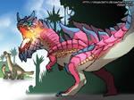 Fire-Breathing Carnotaurus
