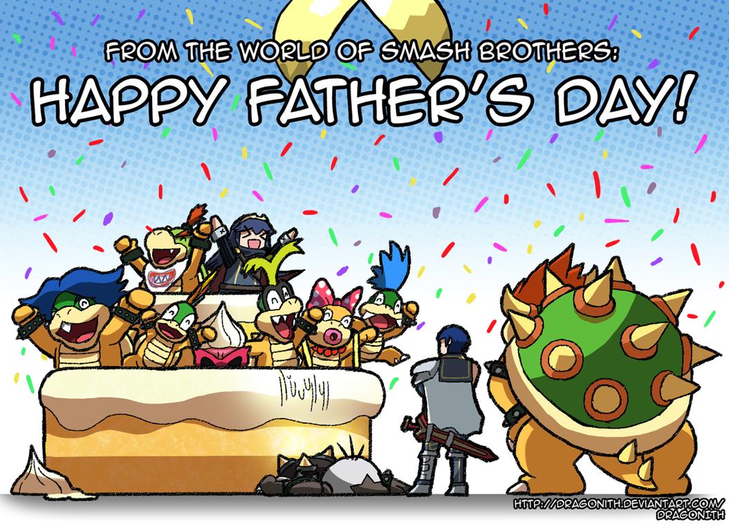 Smash Bros Cake Images