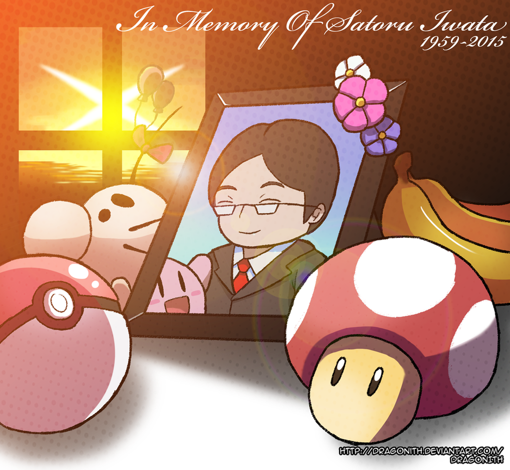 Leave Luck To Heaven Rip Satoru Iwata By Dragonith On