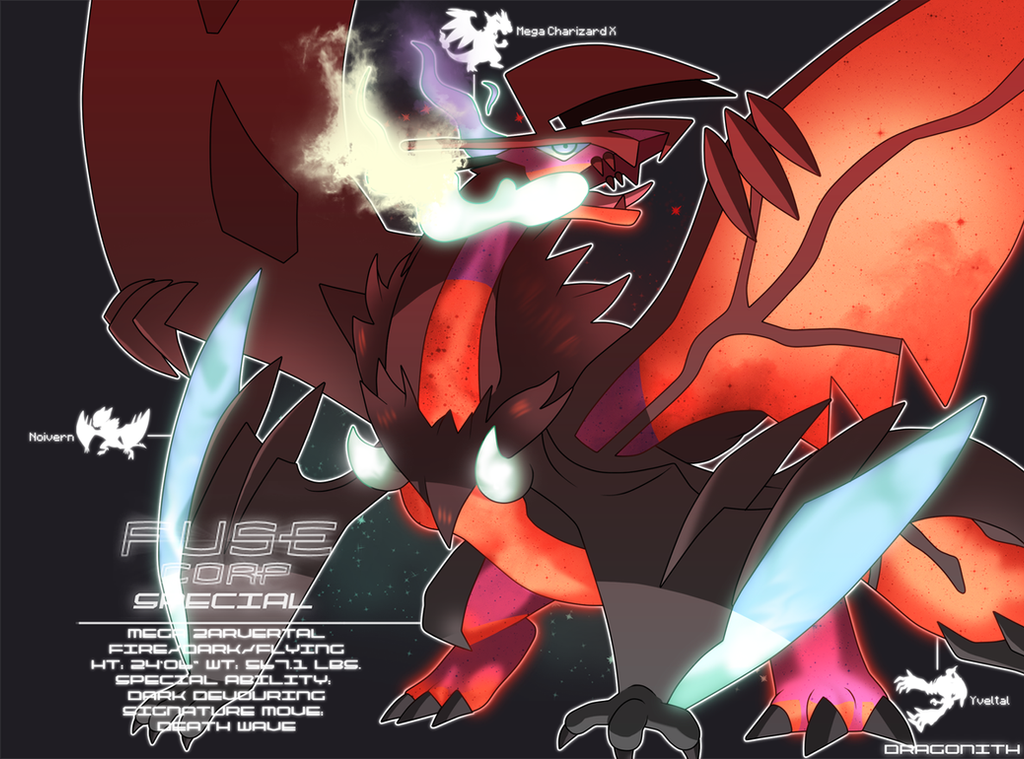 FUSE Corp Special Mega Zarvertal By Dragonith On DeviantArt