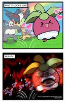 Pokemon - Bounsweet by Dragonith