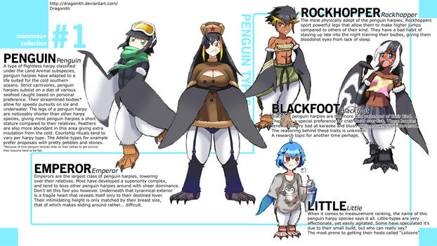 Monster Musume+: Penguin Species