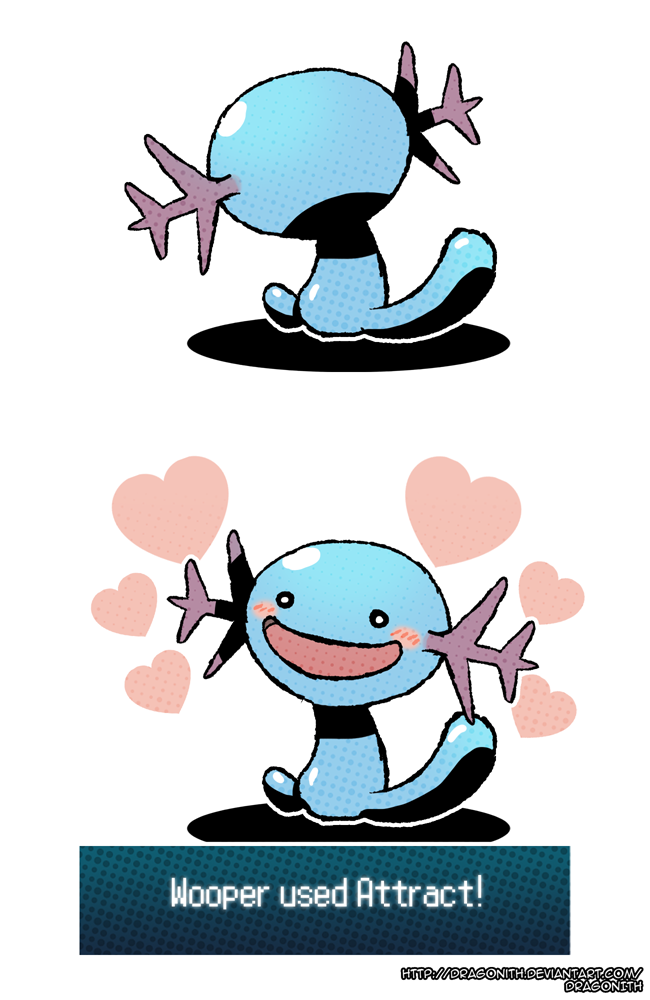 Wooper By Dragonith On DeviantArt