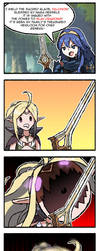 FE Heroes: The Divine Falchion by Dragonith