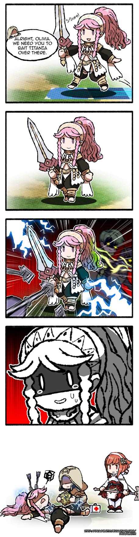 FE Heroes: Bait by Dragonith