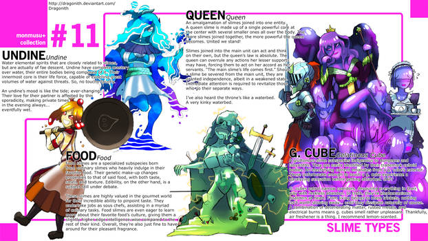 Monster Musume+: Slime Species by Dragonith