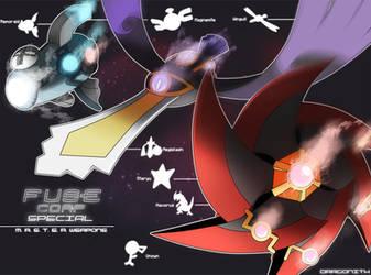 F.U.S.E Corp Special: M. A. S. T. E. R. Weapons by Dragonith