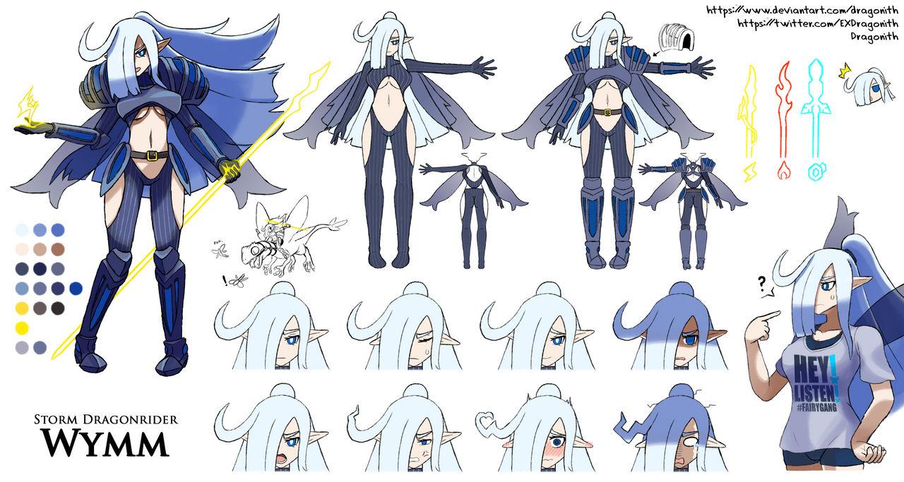 Wymm Character Sheet