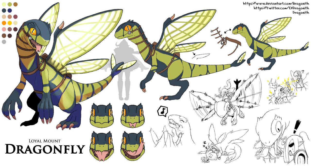 Dragonfly Character Sheet