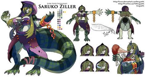Saruko Ziller Character Sheet