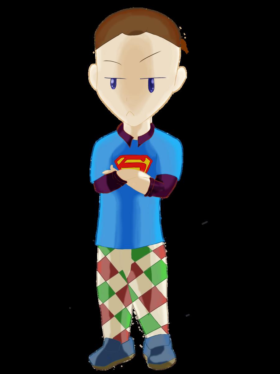 Sheldon by KokoKiero