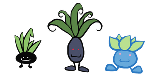 Oddish Designs by KokoKiero