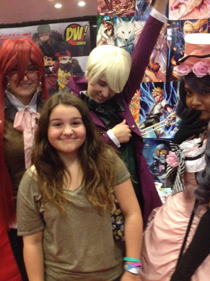 Me With Black Butler Cosplayers At NY Comic Con By MrsxPhantomhive
