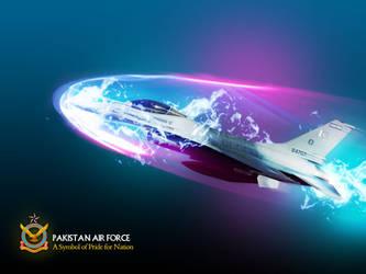 Paki Air Force F16 wallpaper by muddassir