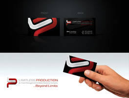 LIMITLESS PRODUCTION CARD by muddassir