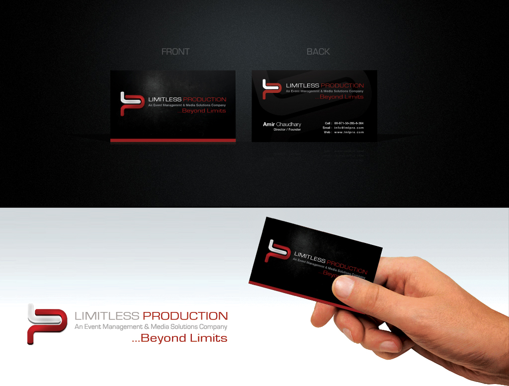 IMITLESS PRODUCTION CARD 2 by ~muddassir