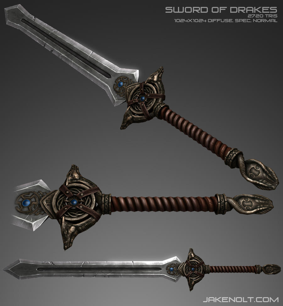 Sword of Drakes by 9thKnight on DeviantArt